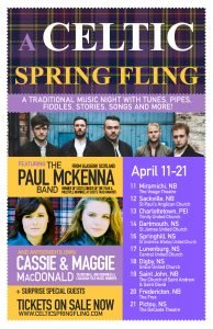Celtic Spring Fling in Charlottetown @ Old Triangle Pub