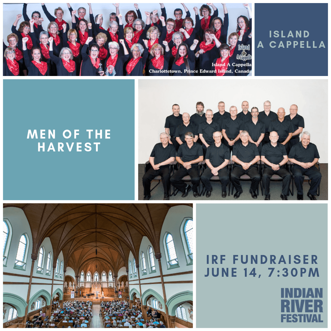 Island A Cappella & Men of the Harvest - IRF Fundraiser