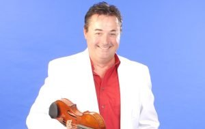 Frank Leahy with Don Messer's Violin @ Historic St. Mary's Church, Indian River